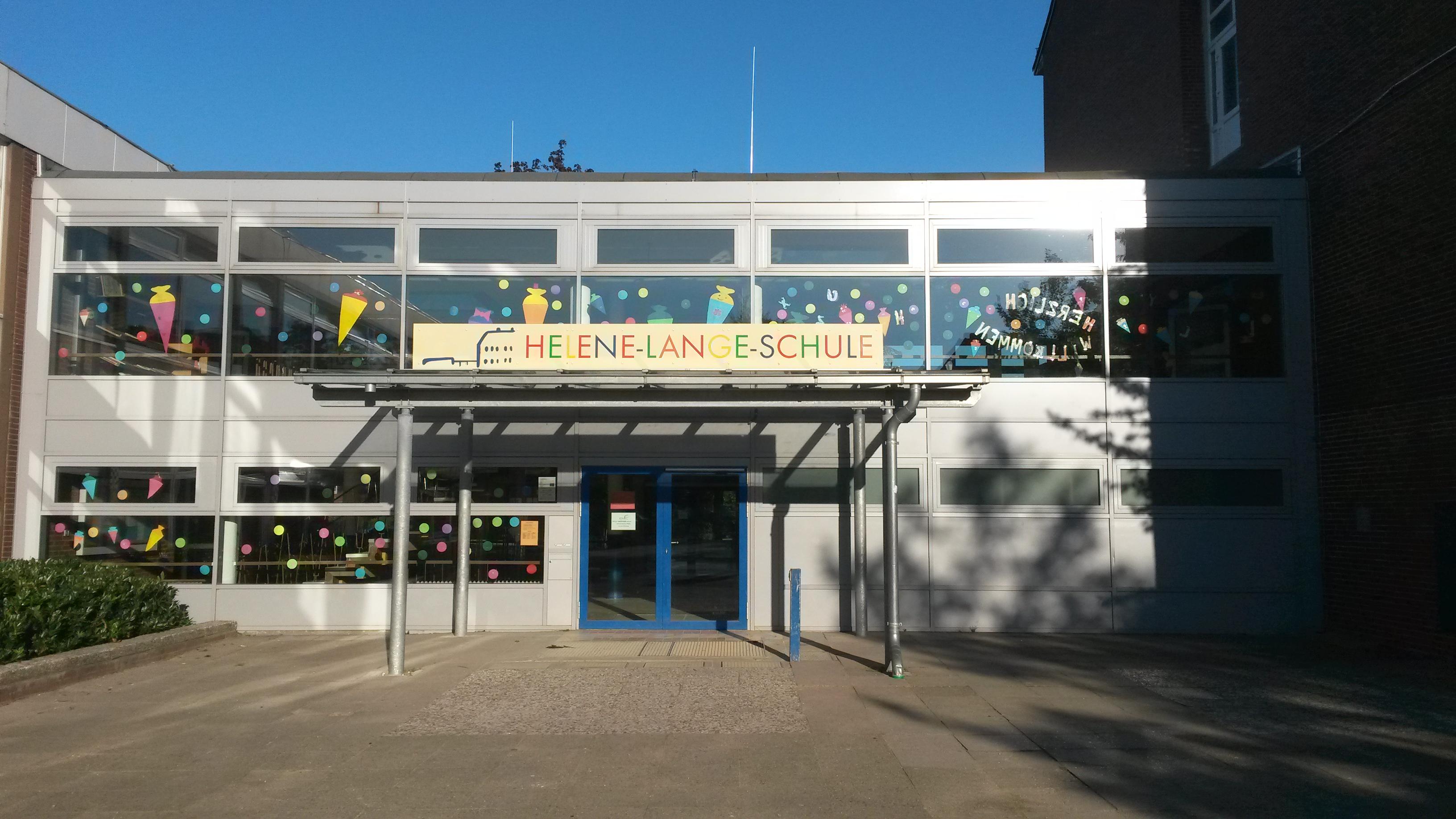 Der Haupteingang unserer Schule