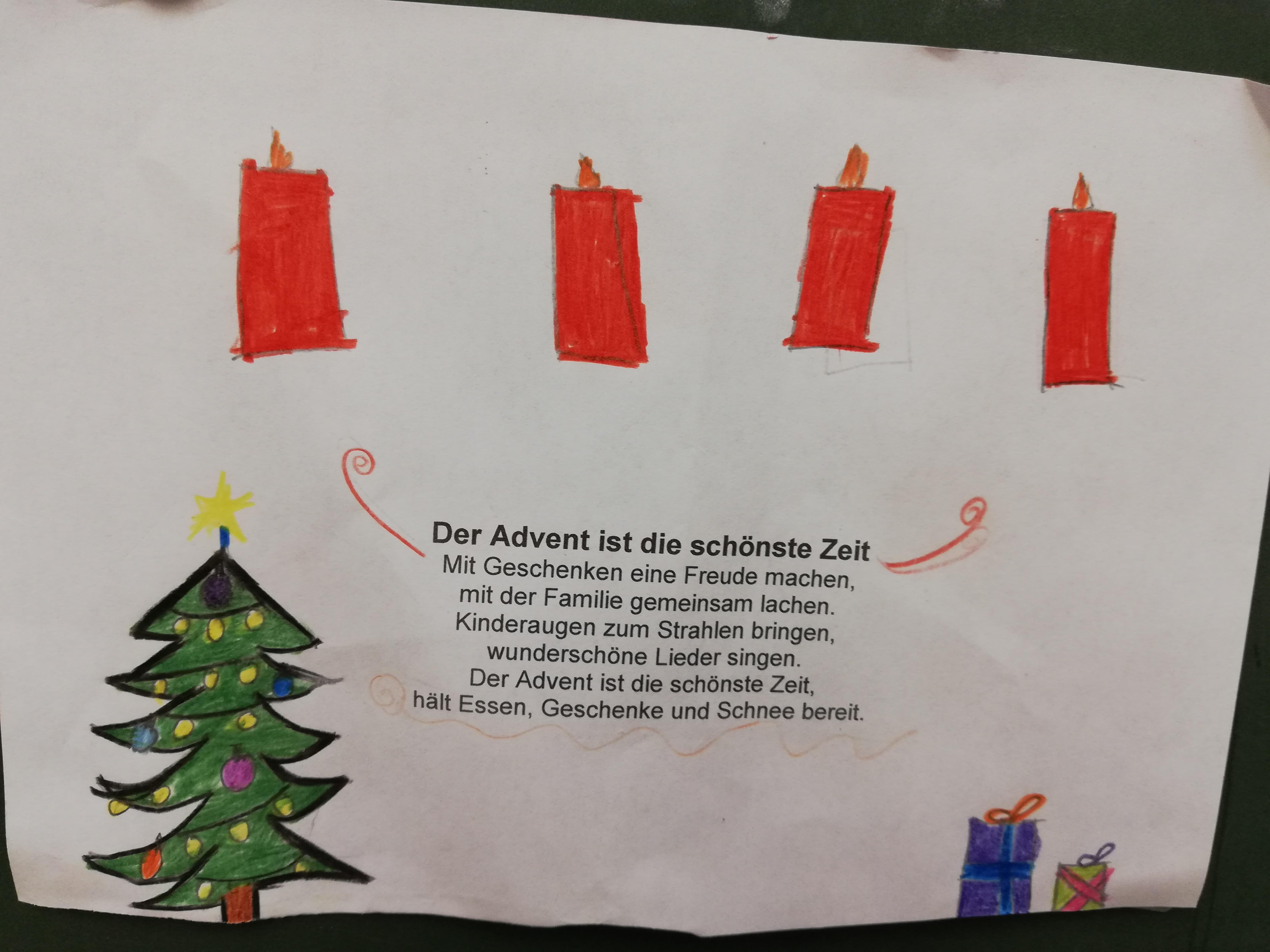 Weihnachtsgedichte Zum Lachen.Weihnachtsgedichte Der 3e Helene Lange Schule